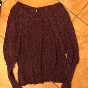 A sparkling light weight sweater